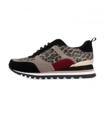 Comprar Gioseppo Zapatillas de piel Steinsel leopardo
