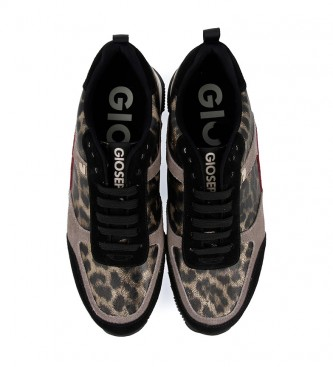 Gioseppo Leather shoes Steinsel leopard - Wedge height: 4cm