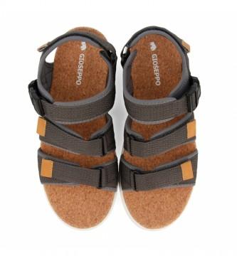 Gioseppo Sport Flip Flops Wallasey grey