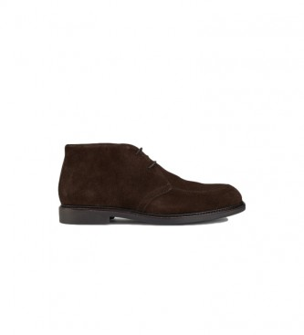 HACKETT Chino Chukka Welt brown leather ankle boots