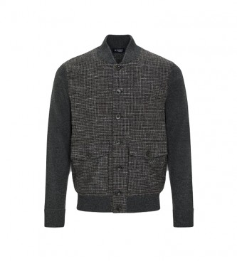 HACKETT Varsity sweater grey