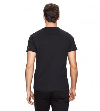 HACKETT T-shirt à logo hexagonal noir