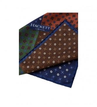 HACKETT Pañuelo Quad Retro Neat multicolor