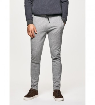 HACKETT Pantalón de chándal Refined gris