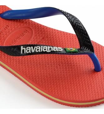 Havaianas Tongs Brasil Mix rouge
