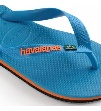 Havaianas Infradito Turchese Brasil Layers