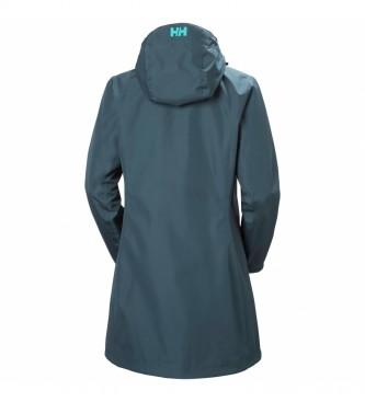 Helly Hansen Capa de chuva W Long Belfast azul