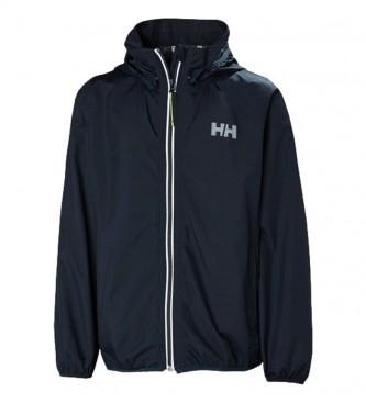 Helly Hansen Helium Packable Raincoat navy
