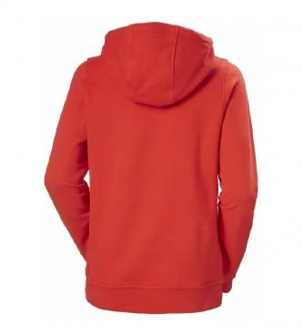 Helly Hansen Sweatshirt W HH Logotipo vermelho
