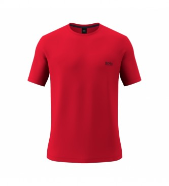 Hugo Boss Loungwear T-shirt in red Cotton Stretch Cotton