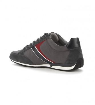 Hugo Boss Shoes Saturn Lowp mx dark grey