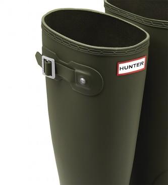 Hunter Bottes vertes originales Tall -Hauteur : 38cm