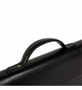 ITACA Porte-documents T50040 noir -41x31x9cm