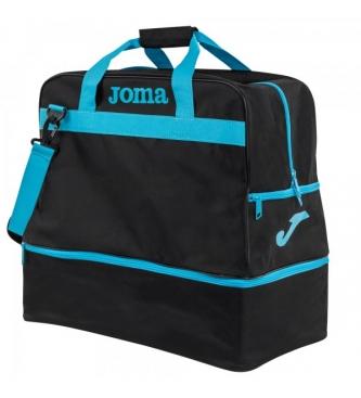Joma  Training Bag III black, blue -48x49x32cm