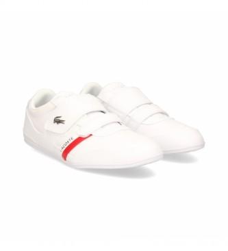Lacoste Zapatillas de piel 41CMA0045 blanco