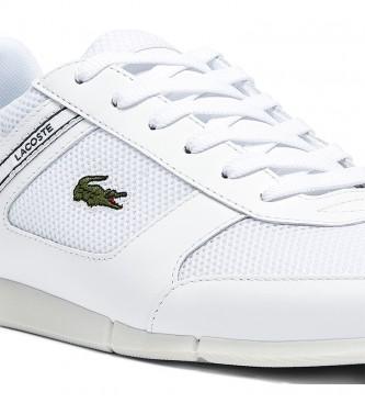 Lacoste Zapatillas de piel Menerva Sport blanco