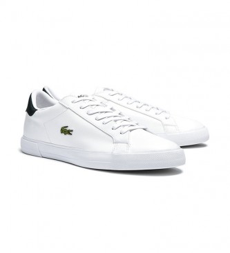 Lacoste Lerond Plus white leather sneakers