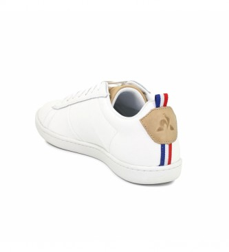 Le Coq Sportif Courtclassic Printemps white leather sneakers
