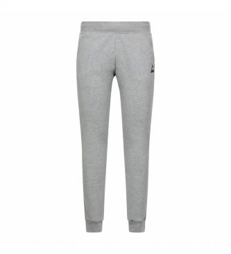 Le Coq Sportif Pantaloni della tuta Essential N ° 1 grigi