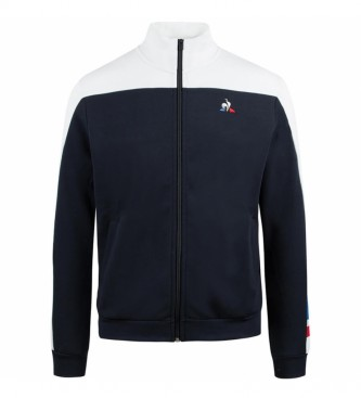 Le Coq Sportif Sweatshirt TRI FZ bleu marine, blanc