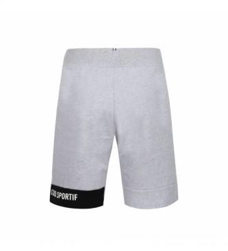 Le Coq Sportif Short Essentiels Regular N°2 gris