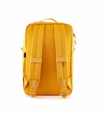 Levi's Zaino giallo L-Pack Standard Issue -41x26x13cm-