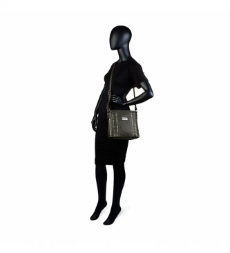 Lois Saco de ombro de oliva 9444444 -24x25x25x7,5cm
