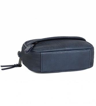 Lois Small Shoulder Bag Convertible into Bum Bag 303773 marine -11x17x5cm