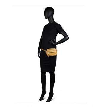 Lois Small Shoulder Bag Convertible into Bum Bag 303773 mustard -11x17x5cm