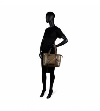 Lois Saco de boliche 302147 castanho -35x21x14cm