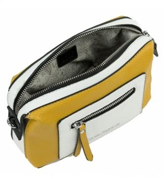 Lois Mustard Neacola shoulder bag, white -20x13x7cm