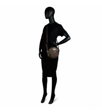 Lois Sac à bandoulièreCirculaire 304884 -19x19x5cm- brun