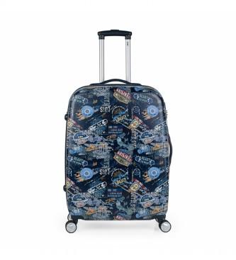 Lois Conjunto de 2 malas Saint Maurice 130100 azul - 45x70x25cm