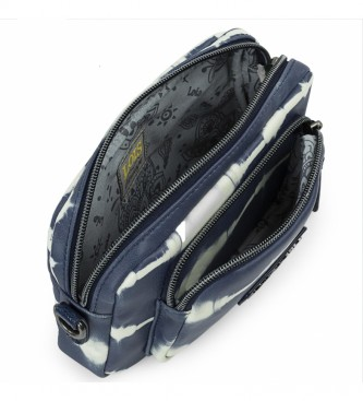 Lois Mini Wallet 310825 colore blu -18,5x12x4 cm-