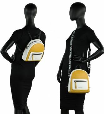 Lois Zaino Neacola senape, bianco - 23,5x26x8,5cm -