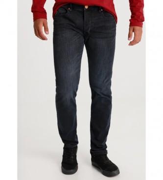 Lois Marvin Comfort Slim-Sphera navy blue jeans