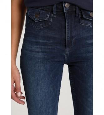 Lois Jeans Mary-Zennet azul-marinho médio