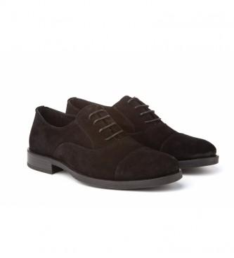 Mañas Sapatos de couro 2970 preto
