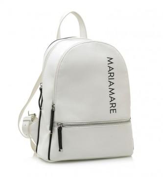 MARIAMARE Zaino Angeles bianco -25x30x11cm-