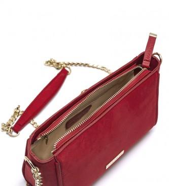 MARIAMARE Red Samoa shoulder bag -21,5x13,5x8,5cm