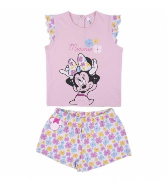 Cerdá Group Pyjama Short Single Jersey Minnie rose