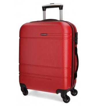 Movom Valise de transport Movom Galaxy rigide rouge 55cm