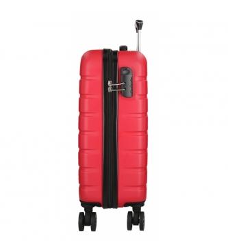 Movom Rigid cabin case Movom Turbo red -55x39x20cm