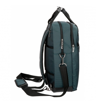 Movom Sac à dos pour ordinateur portable Movom Business avec bandoulière Bleu
