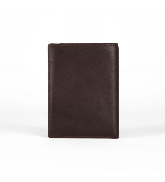 Movom Leather card holder Movom Capsule Brown -9x12.5x1cm-