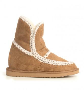 otoño Huerta contrabando  Comprar Mustang Botas Turuk camel -Altura cuña interior: 6cm- - Tienda  Esdemarca moda, calzado y complementos - zapatos de marca y zapatillas de  marca