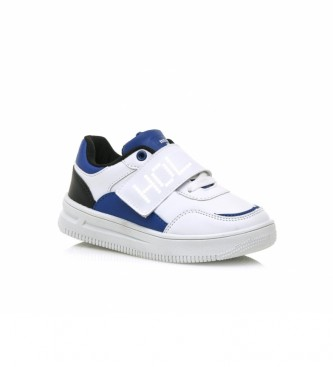 Mustang Kids Chaussures avec lumières blanches Trix