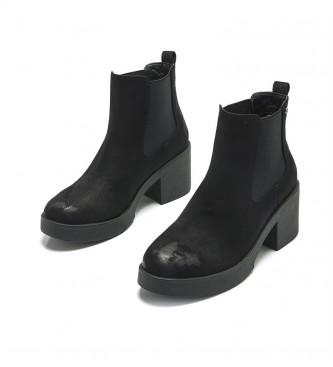 Mustang Black Eris ankle boots -Heel height: 5cm