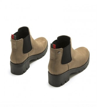 Mustang Ankle boots Pass taupe -Heel height + platform: 6 cm