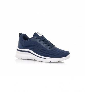 Mustang Sneakers Somo blue-Wedge height: 5,5 cm